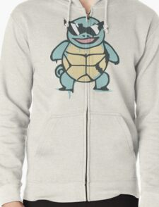 Ash's Squirtle (Squirtle Squad Leader) Zipped Hoodie