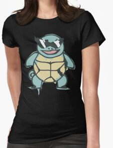 Ash's Squirtle (Squirtle Squad Leader) Womens Fitted T-Shirt