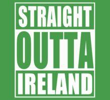 Straight Outta Ireland Kids Tee