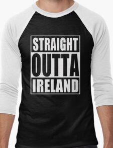 Straight Outta Ireland Men's Baseball ¾ T-Shirt