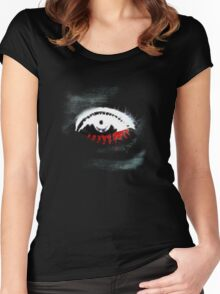Blood tears Women's Fitted Scoop T-Shirt
