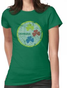 Irish Pittsburgh Drinkers St Patrick's Day Womens Fitted T-Shirt