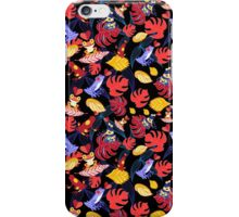 pattern of the lovers frogs iPhone Case/Skin