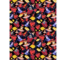 pattern of the lovers frogs Photographic Print