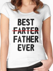 Best Farter Ever Women's Fitted Scoop T-Shirt