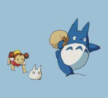 My Neighbor Totoro - Run Baby Tee