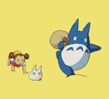 My Neighbor Totoro - Run One Piece - Short Sleeve