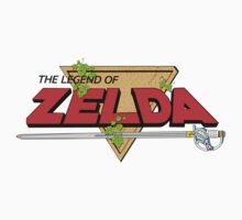The Legend of Zelda Logo Kids Clothes