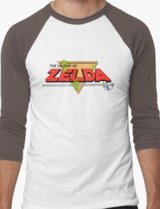 The Legend of Zelda Logo Men's Baseball ¾ T-Shirt