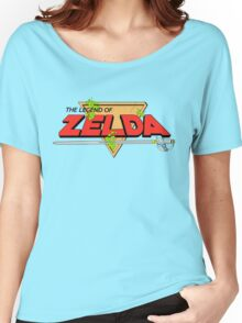 The Legend of Zelda Logo Women's Relaxed Fit T-Shirt