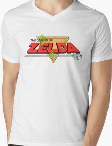 The Legend of Zelda Logo Mens V-Neck T-Shirt