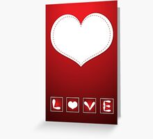 Love stamps  Greeting Card