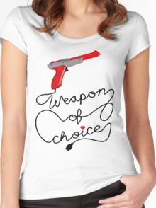 Weapon of Choice (2014 Revamped Version) Women's Fitted Scoop T-Shirt