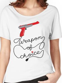 Weapon of Choice (2014 Revamped Version) Women's Relaxed Fit T-Shirt