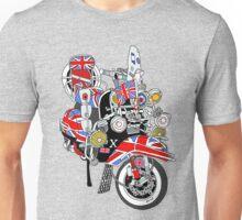 Union Jack Mods Bike Unisex T-Shirt