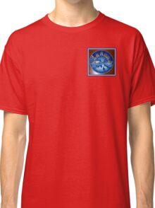 Royal Blue Copenhagen Plate Round Christmas Market Kirsten Christkindl Angel Delight Classic T-Shirt