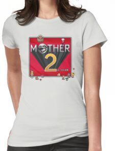 Alternative Mother 2 / Earthbound Title Screen Womens Fitted T-Shirt