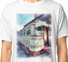 Diner Watercolor Classic T-Shirt