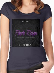 Future - Purple Reign Women's Fitted Scoop T-Shirt