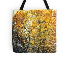 Yellow Tree Tote Bag