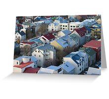 Reykjavik Greeting Card