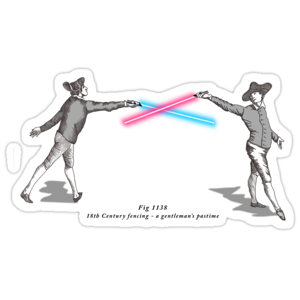 Fig. 1138 - 18th century fencing by venitakidwai1