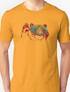 Funny Bear Wave Hand T-Shirt