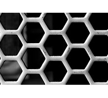 Honeycomb Grid Photographic Print