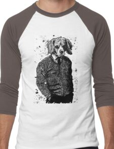 Temporary Beagle Men's Baseball ¾ T-Shirt