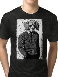 Temporary Beagle Tri-blend T-Shirt