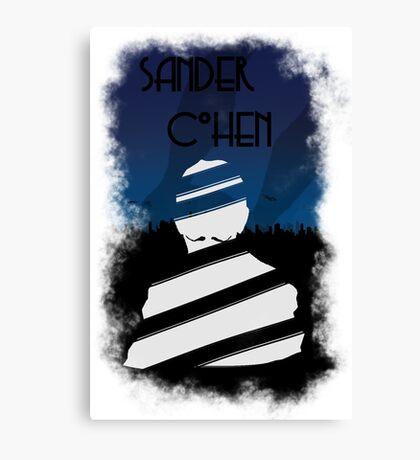 Sander cohen wrapped Canvas Print