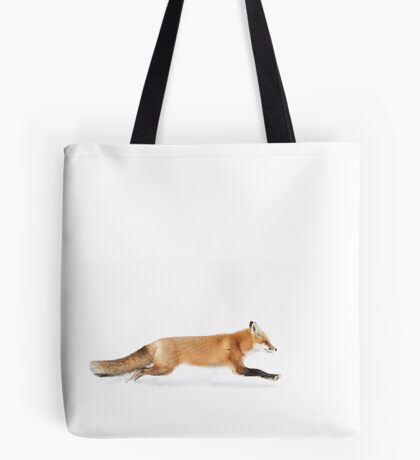 Fox on the run - Algonquin Park Tote Bag