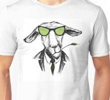 Hand Drawn Fashion Portrait of donkey Hipster  Unisex T-Shirt