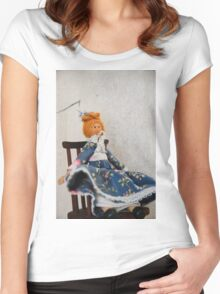 Peg Doll Women's Fitted Scoop T-Shirt