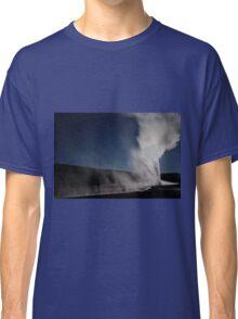 Old Faithful Full Moon Classic T-Shirt