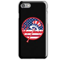 New York Yankees Flag Logo iPhone Case/Skin