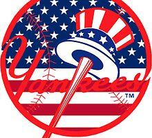 New York Yankees Flag Logo by j423985