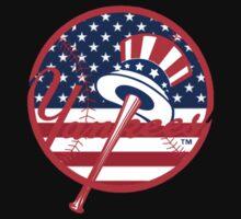 New York Yankees Flag Logo Baby Tee