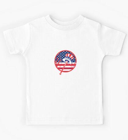 New York Yankees Flag Logo Kids Tee