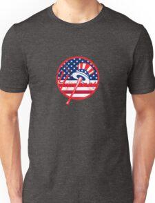 New York Yankees Flag Logo Unisex T-Shirt