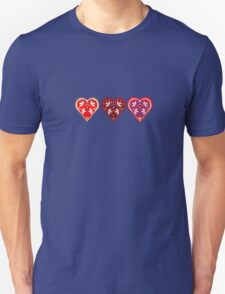 Folk Hearts Unisex T-Shirt