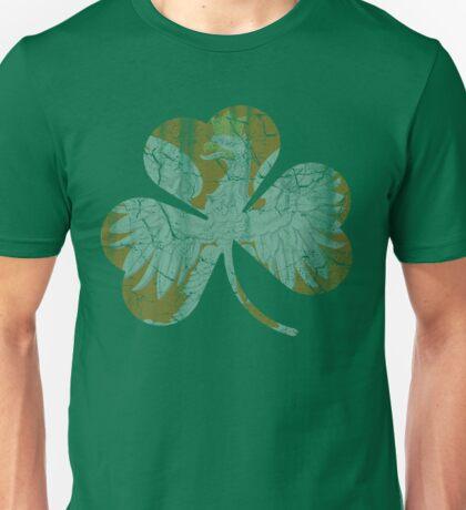 Vintage Irish Polish Heritage Shamrock Unisex T-Shirt