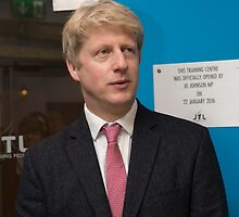 Jo Johnson MP by Keith Larby