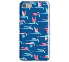 Flight - Blue iPhone Case/Skin