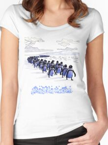 Penguin March Women's Fitted Scoop T-Shirt