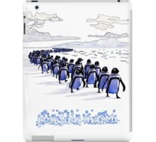 Penguin March iPad Case/Skin