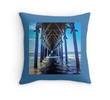 Pier pleasure Throw Pillow