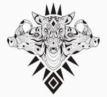 Babirusa- black lines by psychonautic