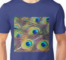 Peacock Feathers Unisex T-Shirt