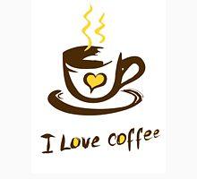 Hand drawn I love coffee illustration Unisex T-Shirt